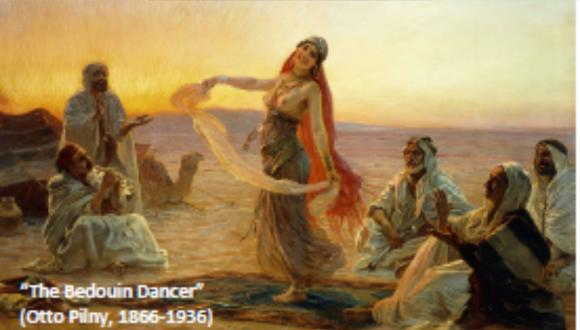 The Bedouin Dancer (Otto Pilny, 1866 - 1936)