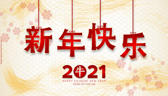 新年快乐! Happy Chinese New Year!